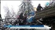 Нормализира се обстановката в Северна България