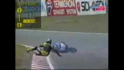 1999 World Superbike Nurburgring - The Oil Spill.avi