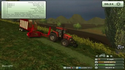 Farming Simulator 2013 - Grass Silage with Jf Fct 1060 Pro Tec