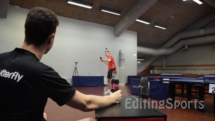 Отваряне на Кока Кола с топче за Пинг понг