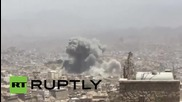Yemen: Houthi HQ destroyed as Saudi-led airstrikes pound Taiz