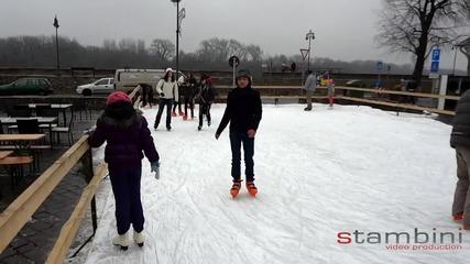 Stambini на ледената пързалка : )