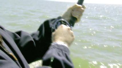 Рибарска макара се запалва от въртене