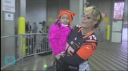 NFL Player Celebrates That Daughter Appears Cancer-Free