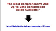 Building Container Homes