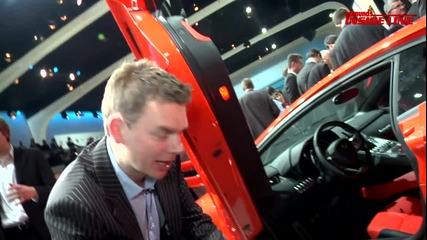 2012 Lamborghini Aventador Lp700 - 4 2011 Geneva Auto Show