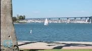 Naval Aviator Careens Off Runway Crashing Jet Into San Diego Bay