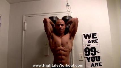 Упражнение за изграждане на мускулите и бързо изгаряне на мазнините !