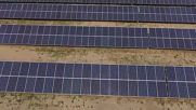 Belarus: Drone footage captures country's biggest solar plant in Gomel Region