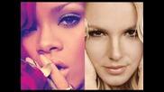 Официален ремикс на Rihanna feat. Britney Spears - S & M (remix)