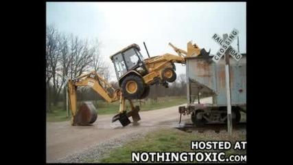 Ненормални Умения За Каране На Трактор