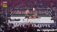 stlemania 27 John Cena vs The Miz Highlights