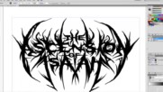 Openmind Art - How to create a Brutal Deathcore logo
