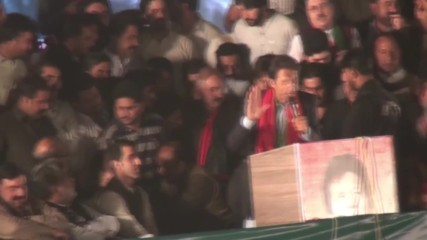 Pakistan: Imran Khan leads mass rally demanding PM Sharif's resignation