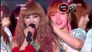 (hd) Today's Winner G. Na (2hot) ~ Music Bank (08.06.2012)