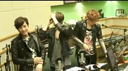 120514 Exo-k Sehun and Kai_s Pose ending @ Hjk 2 o_clock rad