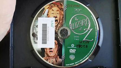 Американското Dvd издание на Магьосникът от Оз (1939) Warner Home Video 2009