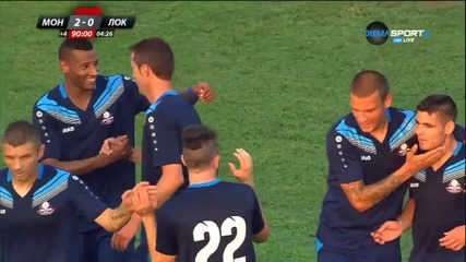 Попадението на Станислав Генчев за 2:0 за Монтната срещу Локо Пд