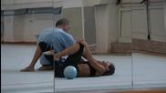 Любопитни моменти от тренировката на Силвия Митева
