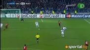 Оксер - Милан 0:2 23.11.2010г.