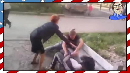 Пияни руснаци налитат на бой #1 - Много смях