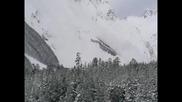 Лавина на Чегете (март 2009)