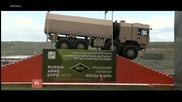 Презентация на новите руски военни камиони