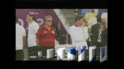 Преди четвъртфиналния мач Англия - Италия