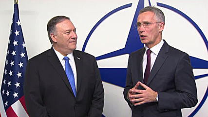 Belgium: Stoltenberg welcomes Pompeo at NATO ministerial meeting