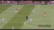 10.05 Димитър Бербатов с асистенция за красив гол на Карлос Тевес ! Юнайтед - Сити 2:0