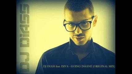 Dj Diass feat. Diva - Going Insane (original Mix)