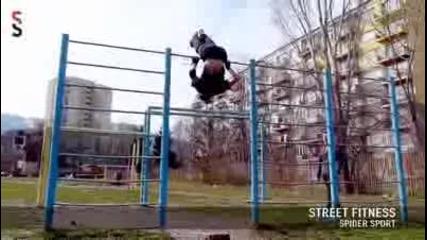 Lulin, Sofia, Bulgaria - Street Fitness