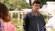 Виолета и Леон се прегръщат и Диего и Лара ги виждат