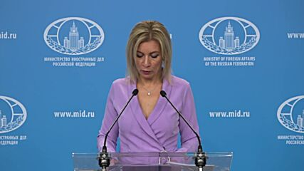Russia: Moscow 'strongly condemn' UK placing responsibility on Russia for Salisbury case – Zakharova