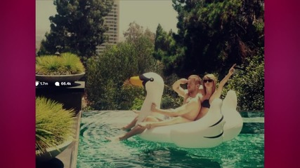 Taylor Swift Shares First Instagram Photo with Calvin Harris