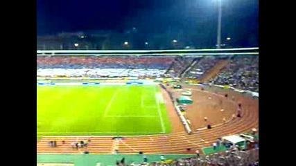 Феновете на Сърбия поставиха световен рекорд