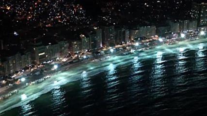 Олимпийският Рио на лунна светлина