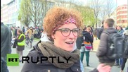 Germany: Thousands gather in Berlin to protest against asylum policy plans