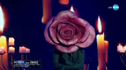 Розата изпълнява Hallelujah на Alexandra Burke | Маскираният певец