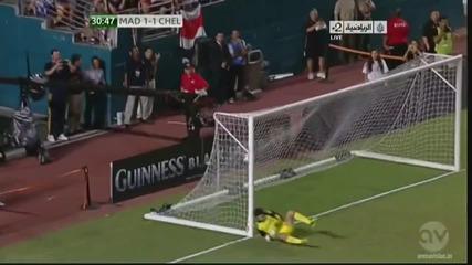 Феноменален гол от пряк свободен на Кристиано Роналдо срещу Челси