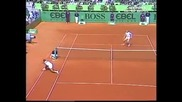 Boris Becker vs Mansour Bahrami