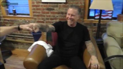 James Hetfield On Overcoming Fear - Part 1
