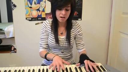 Момиче пее много добре - Katy Perry E.t