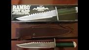 Легендарният Нож от Рамбо: Първа Кръв