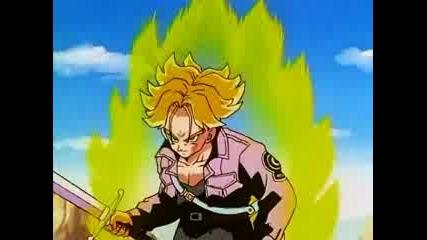 Dbz - Trunks Swears