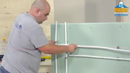 Инсталация на система от тръби и фитинги Radopress на Пайплайф България