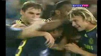 [chelsea 2:1 Milan Zhirkov goal]