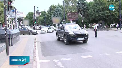 """Демонстранти с протестно автошествие по """"Тракия"""""""