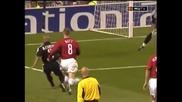 Роналдо срещу Манчестър Юнайтед - хеттрик