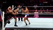 Alexander Rusev vs. Big Show - Hell in a Cell 2014
